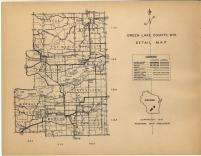 Map Image 014, Green Lake County 1951